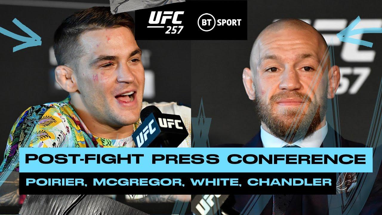 UFC 257 Post Fight Press Conference: Dana White, Conor McGregor and Dustin Poirier