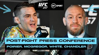 UFC 257 Post Fight Press Conference: Dana White, Conor McGregor and Dustin Poirier