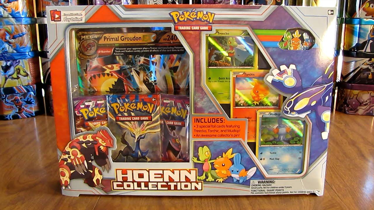pokemon hoenn collection box opening youtube