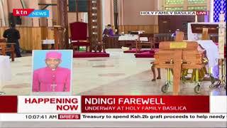 KCCB\'s Archbishop Ndingi Mwana 'a Nzeki burial ceremony
