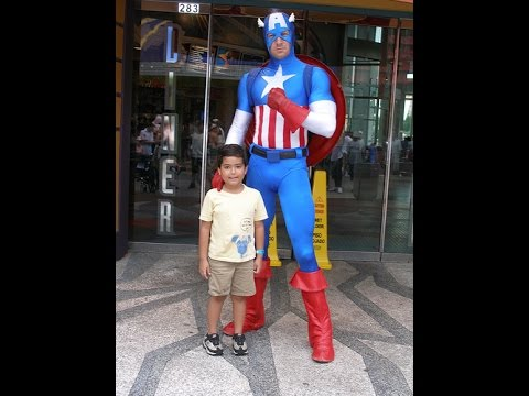 Captain America Birthday Party Ideas New Orleans