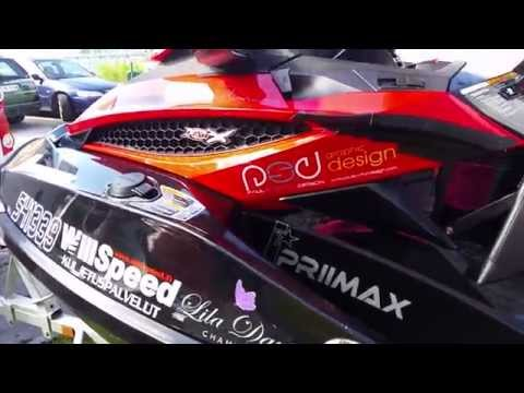 Jet Ski world record Helsinki to Africa