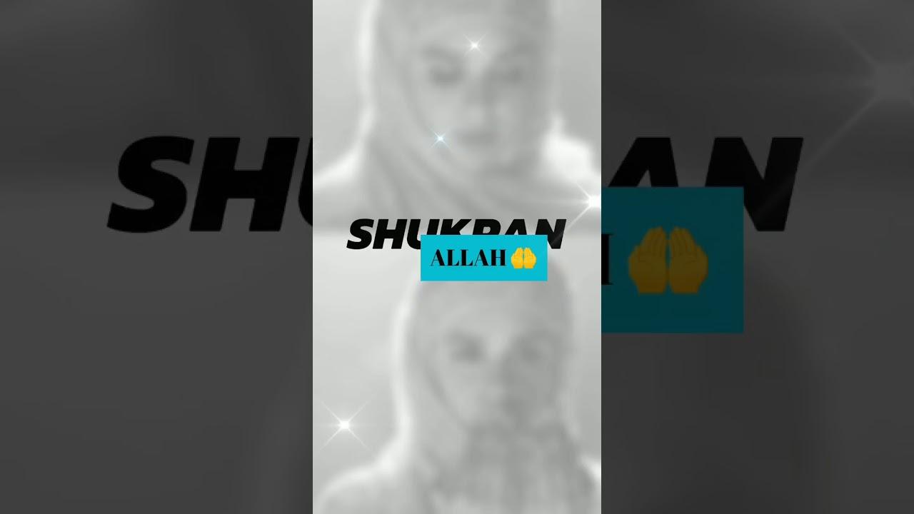 Download Zara kabir  Shukran Allah♥️ full screen love video🌼🌼