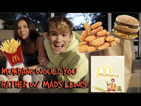 Download Mukbang Would You Rather w/ Mads Lewis | Charles Gitnick