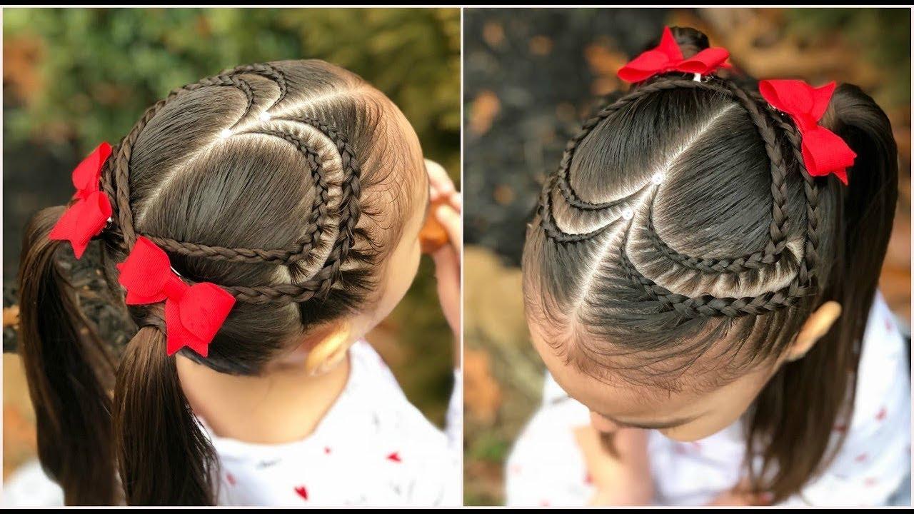 Completamente imperfecto peinados niñas Fotos de ideas de color de pelo - PEINADO PARA NIÑAS DOBLE CORAZÓN Y COLETAS |PEINADOS ...