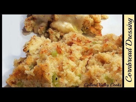 Old Fashioned Cornbread & Biscuit Dressing with No Soups, Best Southern Recipes