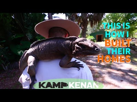 How to Build Reptile Enclosures and Animal Shelters Tutorial at Kamp Kenan