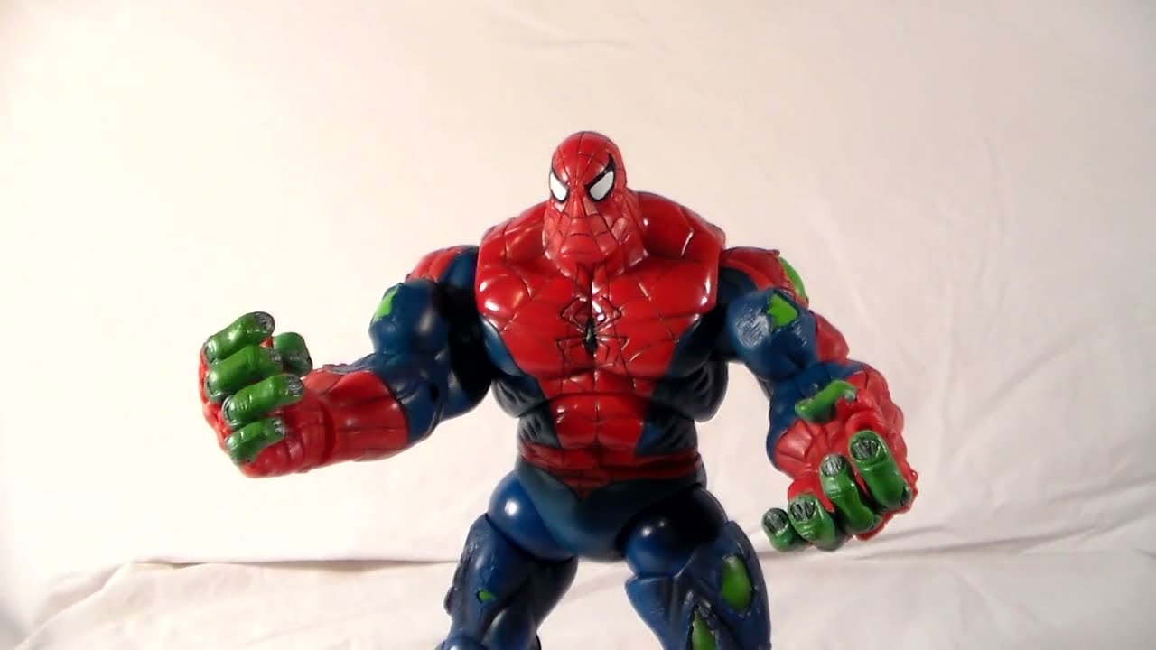 Marvel Legends Spiderman Classics Spider-hulk Action ...