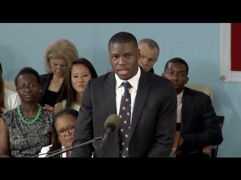 Harvard Orator: Damilare Sonoiki | Harvard Commencement 2013