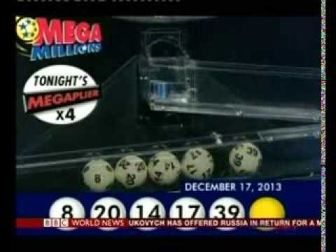 U.S. Mega Millions reveals the jackpot lottery number