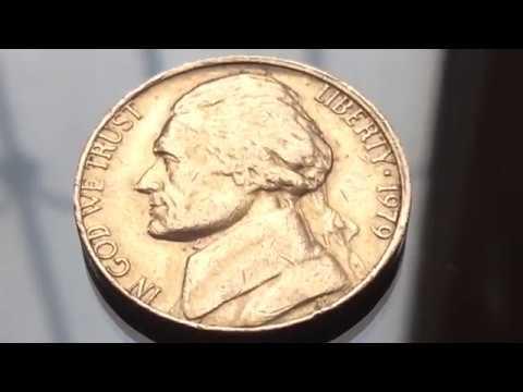 8500$$$ Price Error  US Coins Value 1979 Jefferson Nickel Centavo Coins Numismatics