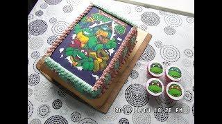 видео Мастер-класс по украшению торта