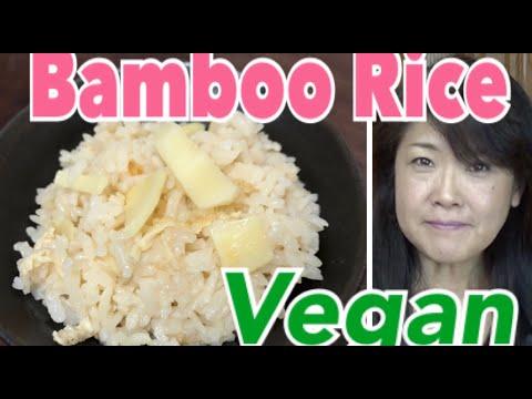 bamboo-shoots-rice,-takenoko-gohan