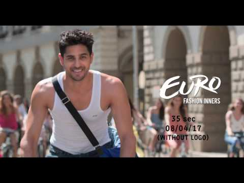 Euro Fashions New TVC Featuring Sidharth Malhotra