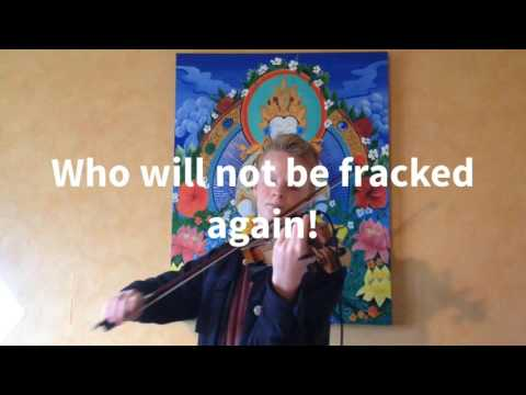 Do you hear the people sing Frack Free?