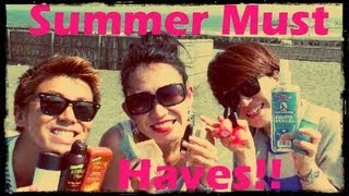 SUMMER MUST HAVE 2013 @ Beach in Japan!! Thumbnail