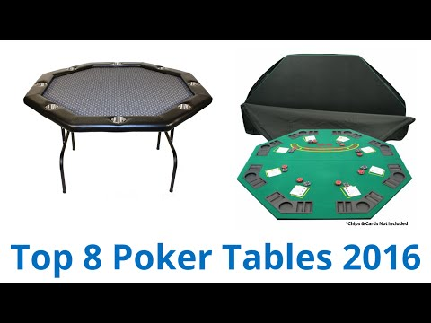 8 Best Poker Tables 2016