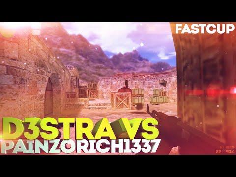 CS 1.6   D3stra VS Painzorich1337   New Fastcup 5x5   Dust2