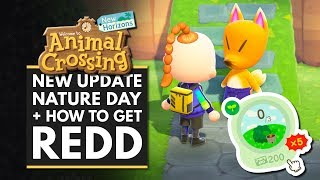 Animal Crossing New Horizons | New Update! Nature Day, Museum Upgrade & How to Get Redd