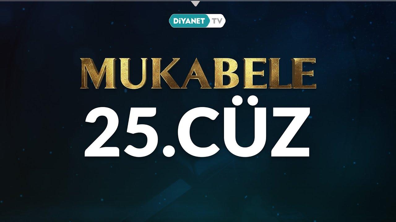 Mukabele - 25. Cüz