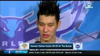 Jeremy Lin post game interview - Hornets vs Knicks | 11/11/15