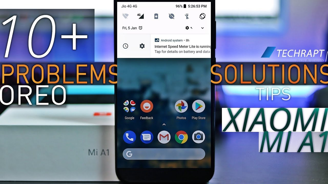 Top 10+ Issues & how to Fix them| Xiaomi Mi A1 Running Android Oreo