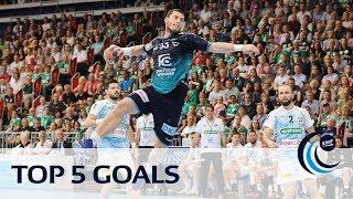 Top 5 goals   Quarter-finals Leg 1   Men's EHF CUP 2018/19