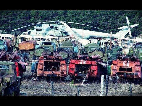 ИЗНАЧАЛЬНО ОБРЕЧЕНЫ... Покинутый военный арсенал в Чернобыле