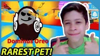 I Gave My Little Nephew The Dominus Oreo Pet! - Roblox Ice Cream Simulator