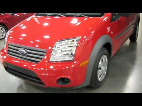 2010 Ford Transit Connect Start Up, Engine, and In Depth Review