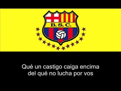 Himno De Barcelona Sporting Club
