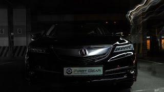 Анонс тест-драйва Acura TLX
