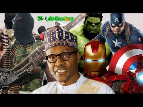 Buhari Confuses Niger Delta Avengers for Marvel Avengers -Hilarious