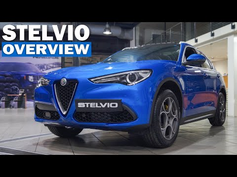 In-depth Look: 2018 Alfa Romeo Stelvio Veloce Q4 - Full Interior and Exterior Review, Engine