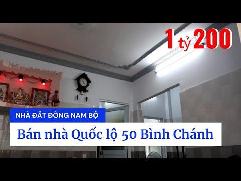 Chính Chủ Bán Nhà Phố Bình Chánh Giá Rẻ - Bán Nhà Quốc Lộ 50 Xã Bình Hưng Huyện Bình Chánh Mới Nhất 2020