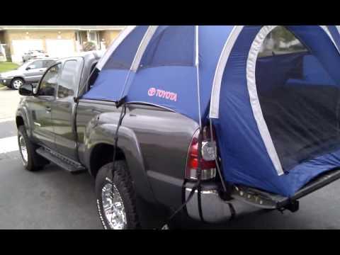 Toyota Tacoma Cargo Net My 2009 Toyota Tacoma 4x4 Access Cab 2.7L 4 cylinder - YouTube