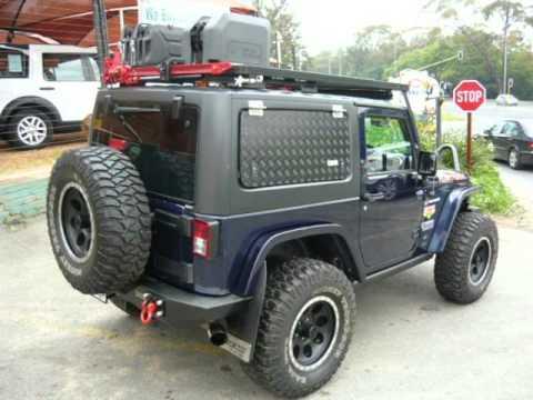 2013 Jeep Wrangler 3 6 V6 Rubicon Custom Full Kit 8 000km Auto For