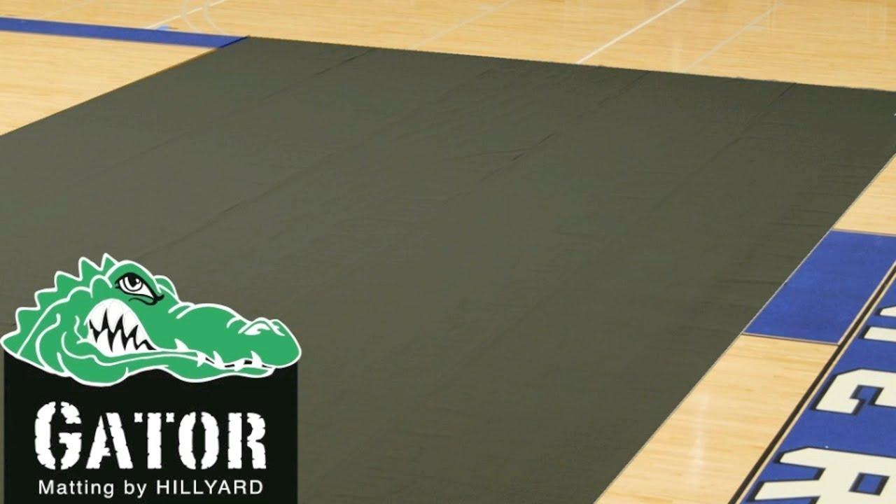 Gator Brand Gym Floor Cover by Hillyard YouTube