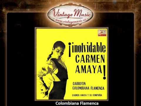 Carmen Amaya -- Colombiana Flamenca (VintageMusic.es)