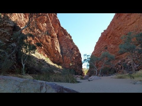 Driving Outback Australia