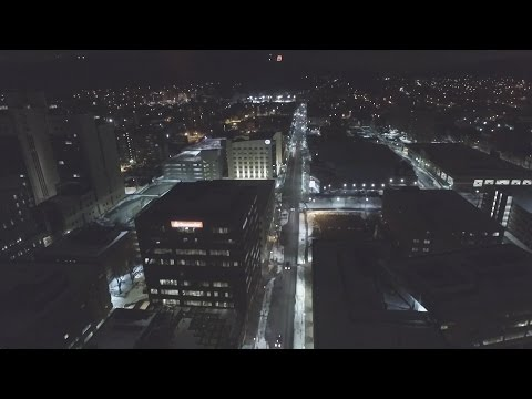 Flying Drones at Reading, PA!!! At Night!!!