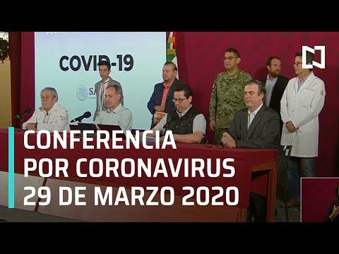 Conferencia por Coronavirus en México - 28 de marzo 2020