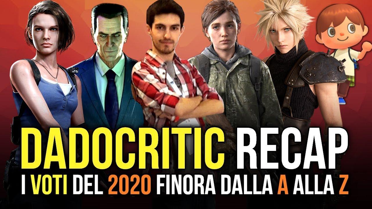 DADOCRITIC Recap: i VOTI del 2020 (finora) dalla A alla Z