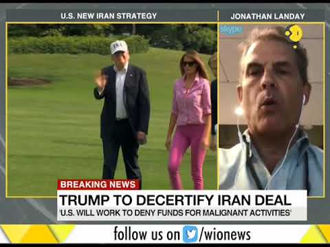 WION Gravitas: President Donald Trump's new deal on Iran