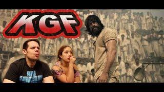 KGF Trailer | Yash | Srinidhi | AMERICAN REACTION!