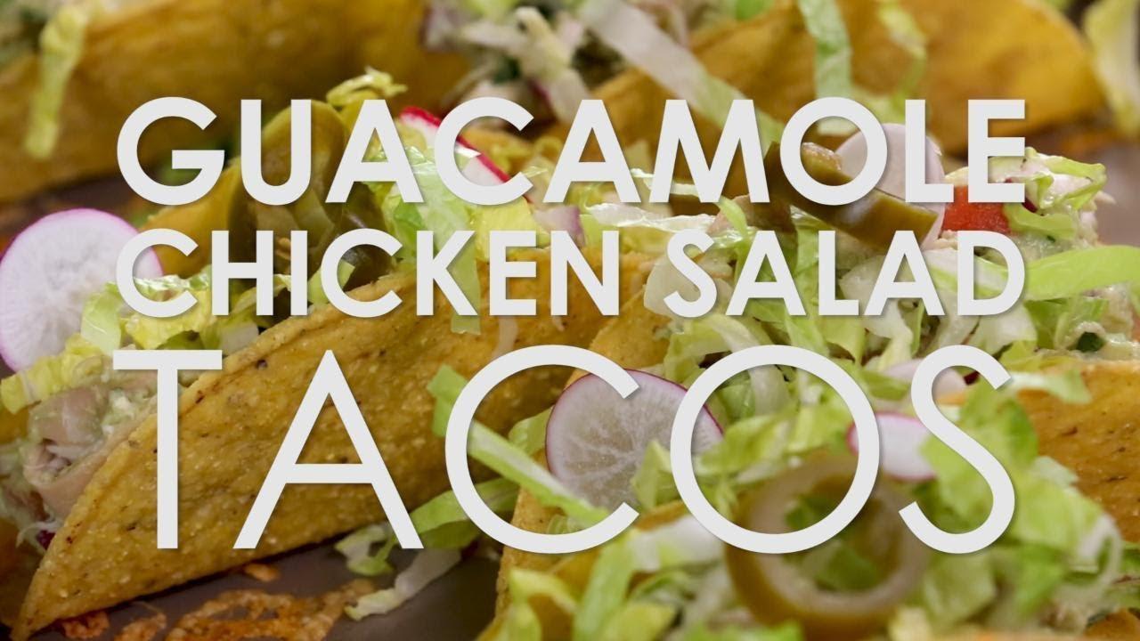 Guacamole Chicken Salad Tacos Rachael Ray Show
