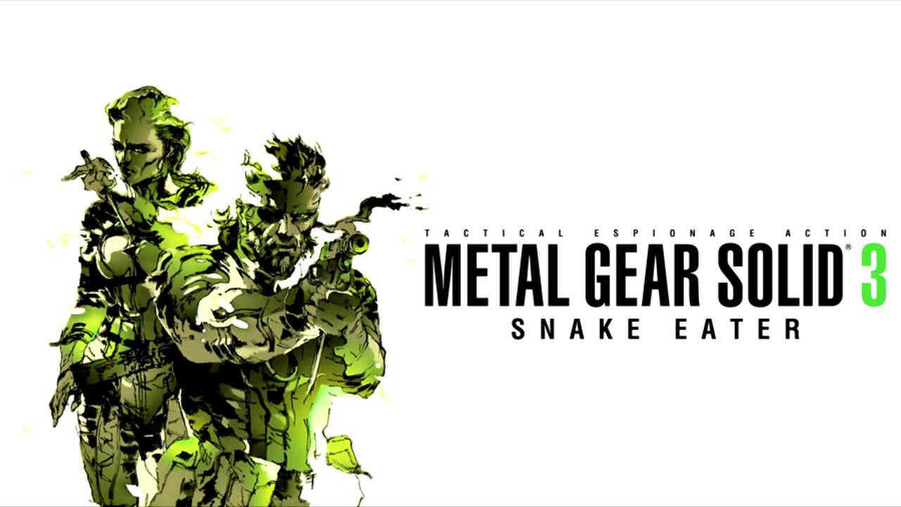 Mgs3 Ost Main Theme Metal Gear Solid 3 Snake Eater Youtube