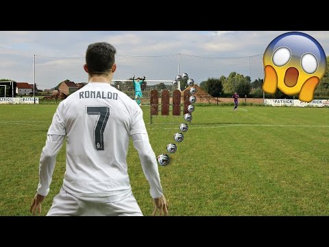 CRISTIANO RONALDO IN REAL LIFE FOOTBALL!! | BEST GOALS RECREATED