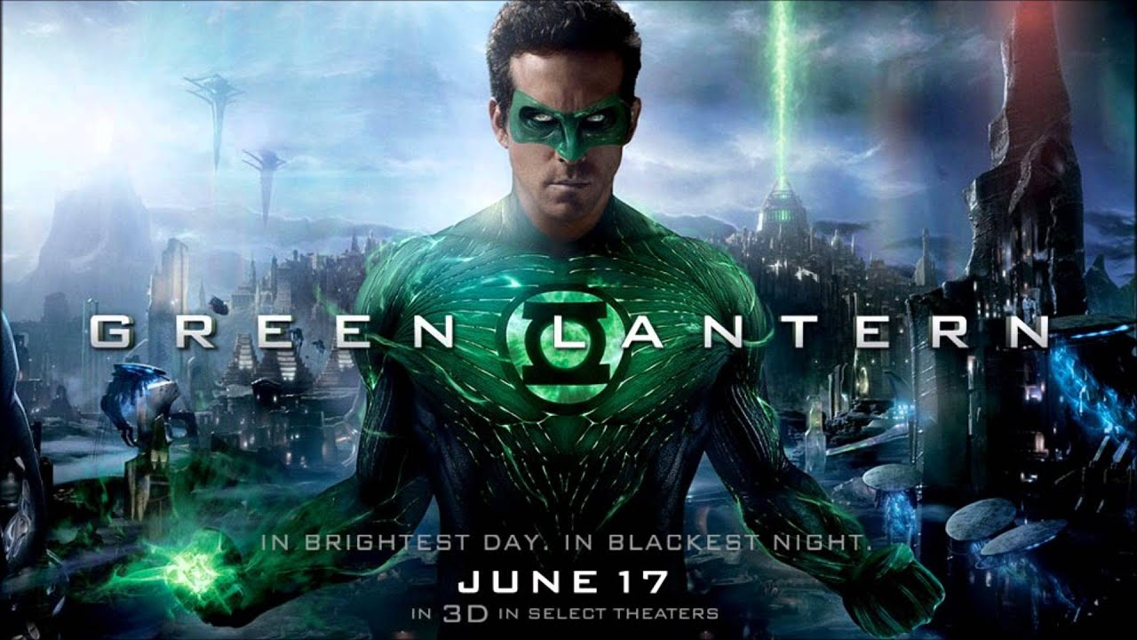This is a picture of Modest Pictures of Green Lantern