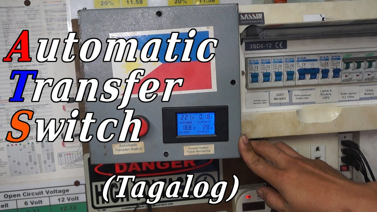 Automatic Transfer Switch ATS (Tagalog)